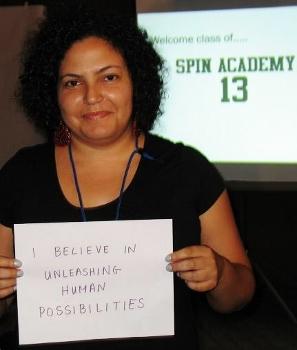 SPIN Acadamy strategic communications workshop