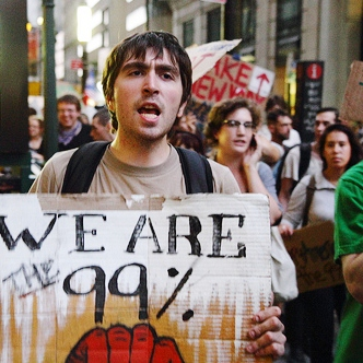 Occupy Wall Street marketing communication message media