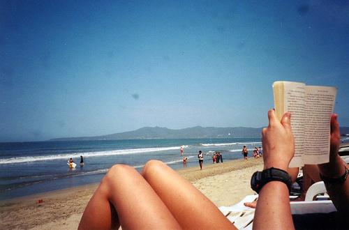 reading_on_beach
