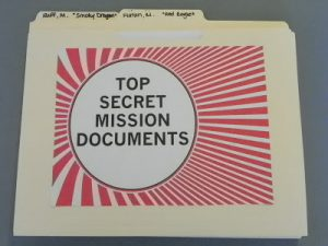 Top Secret Mission Documents